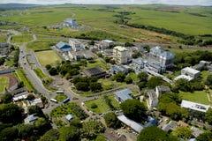 Mauritius education hub. Aerial view of University of Mauritius and Education hub Stock Photography