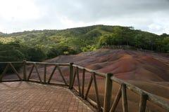 mauritius förbiser sceniskt Fotografering för Bildbyråer
