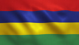 Free Mauritius Flag Royalty Free Stock Photo - 93213575