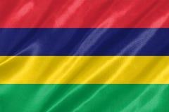 Mauritius Flag royalty free illustration
