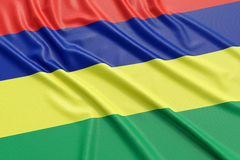 Mauritius flag Royalty Free Stock Images