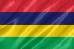 Mauritius-Flagge lizenzfreie abbildung