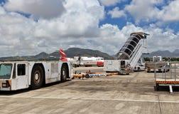 Mauritius flygplatssikt Royaltyfria Foton