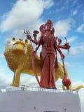 Mauritius, Grand Bassin, Durga Statue stock images