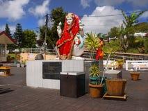 Mauritius, Grand Bassin, Hindu Goddess Statue royalty free stock photos