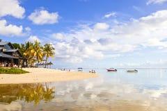 Mauritius island beach Royalty Free Stock Photos