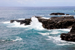 Mauritius island ocean landscape Royalty Free Stock Photography