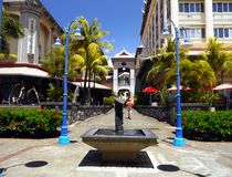 Mauritius Island, Port Louis City, Caudan Center royalty free stock images
