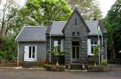 mauritius Jardín botánico de Pamplemousses Oficina central de la confianza del jardín botánico de SSR Imagen de archivo libre de regalías