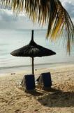 Mauritius-Küste Stockbild