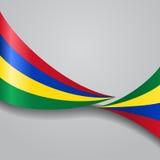 Mauritius krabb flagga också vektor för coreldrawillustration vektor illustrationer