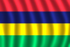 Mauritius kraj w Afryka Wschodnia royalty ilustracja