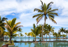 Mauritius kurort Fotografia Stock