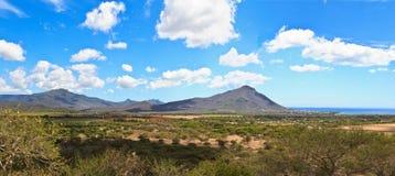 Mauritius landscape Stock Image