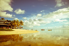 Mauritius landscape Stock Photography