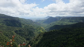 Mauritius-Landschaft Lizenzfreie Stockfotografie