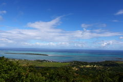 Mauritius-Landschaft Lizenzfreie Stockfotos
