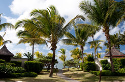 Mauritius - luxury resort Stock Images