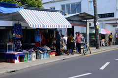 Mauritius, malerisches Dorf von Goodlands Stockfoto