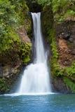 Mauritius. Mali spadki w dolinie 23 kolorów Uziemiają parkowy aux Obraz Royalty Free