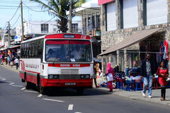 Mauritius, malownicza wioska Goodlands Obrazy Stock