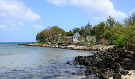 Mauritius malownicza wioska Pereybere Fotografia Royalty Free