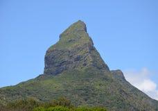 Mauritius mountain. Steep mountain in inland, Mauritius Stock Photos