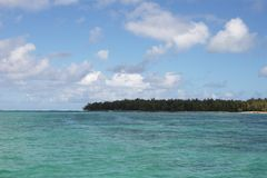 Mauritius ocean view. And shoreline Stock Images