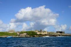 Mauritius, the picturesque Blue Bay aera Royalty Free Stock Photos