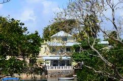 Mauritius, picturesque village of Belle Mare Stock Photos
