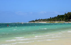 Mauritius, picturesque village of Belle Mare Royalty Free Stock Images