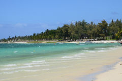 Mauritius, picturesque village of Belle Mare Royalty Free Stock Photos