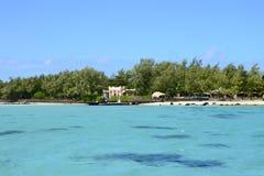 Mauritius, the picturesque village of Mahebourg Stock Photos