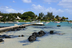 Mauritius, the picturesque village of Pereybere Royalty Free Stock Photography