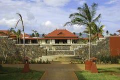 Mauritius Resort Lobby Immagine Stock
