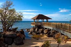 Mauritius romantic place Royalty Free Stock Images