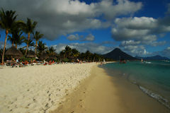 Mauritius seashore Royalty Free Stock Image