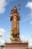 Mauritius. Shiva statue at lake Grand Bassin temple Stock Images