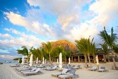Mauritius-Strand stockbilder
