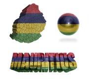 Mauritius Symbols Immagini Stock Libere da Diritti