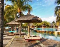 Mauritius Tropical Island, Travel Resort, Indian Ocean stock photo