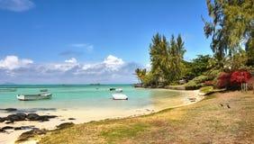 Mauritius Tropical Island, West Coast, Indian Ocean stock image