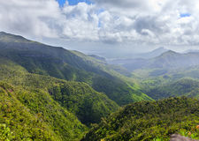 Mauritius, view of mountains Stock Photo