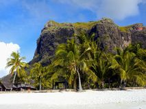 Mauritius Volcanic Landscape Mountains royalty free stock photo