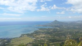 Mauritius widok Obraz Royalty Free