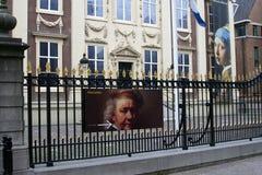 Maurits husmuseum i Haag, Nederländerna Arkivbilder