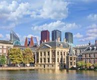 Mauritshuis, музей изобразительных искусств который расквартировывает королевский шкаф картин, Гаага, Нидерланды стоковое изображение rf
