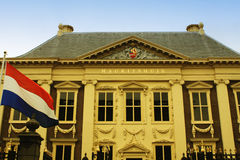 Mauritshuis in Den Haag, Netherlands Royalty Free Stock Photos