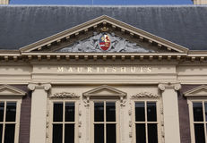 Mauritshuis in the hague, museum for paintings Royalty Free Stock Image
