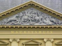 Mauritshuis museum royaltyfri fotografi